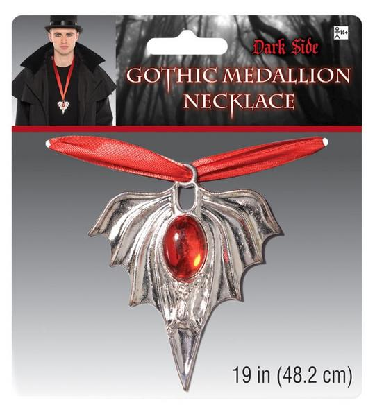 Adults Gothic Medallion Thumbnail 1