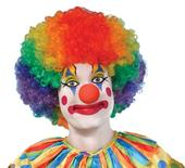 Adults Rainbow Clown afro
