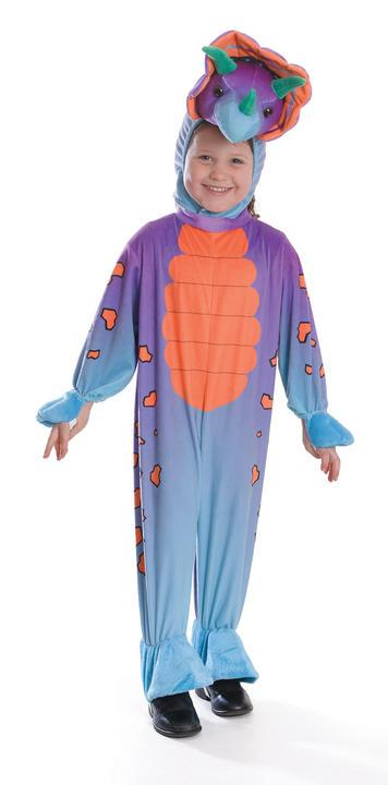 SALE Kids Dinosaur Triceratops Girls / Boys Book Week Fancy Dress Childs Costume Thumbnail 1
