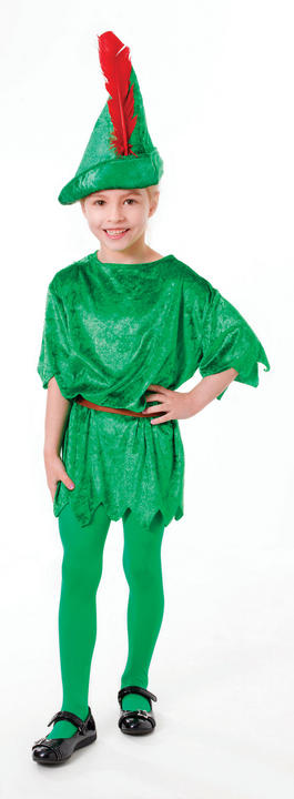 SALE! Kids Deluxe Peter Pan Boys Book Week Fancy Dress Childs Costume Outfit Thumbnail 3