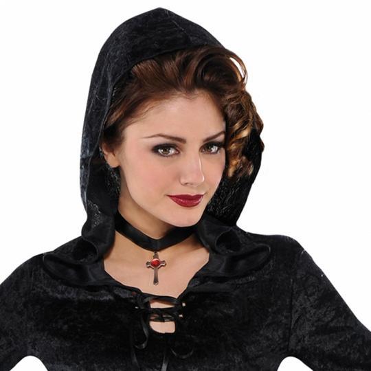 SALE! Adult Evil Enchantress Ladies Halloween Party Fancy Dress Costume Outfit Thumbnail 2