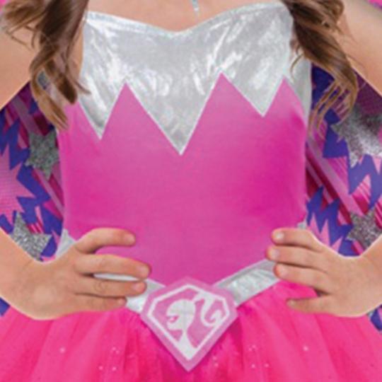 Barbie Power Princess Fancy Dress Costume  Thumbnail 3