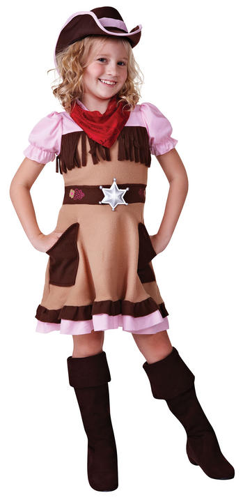 Cowgirl Cutie Fancy Dress Costume Thumbnail 2