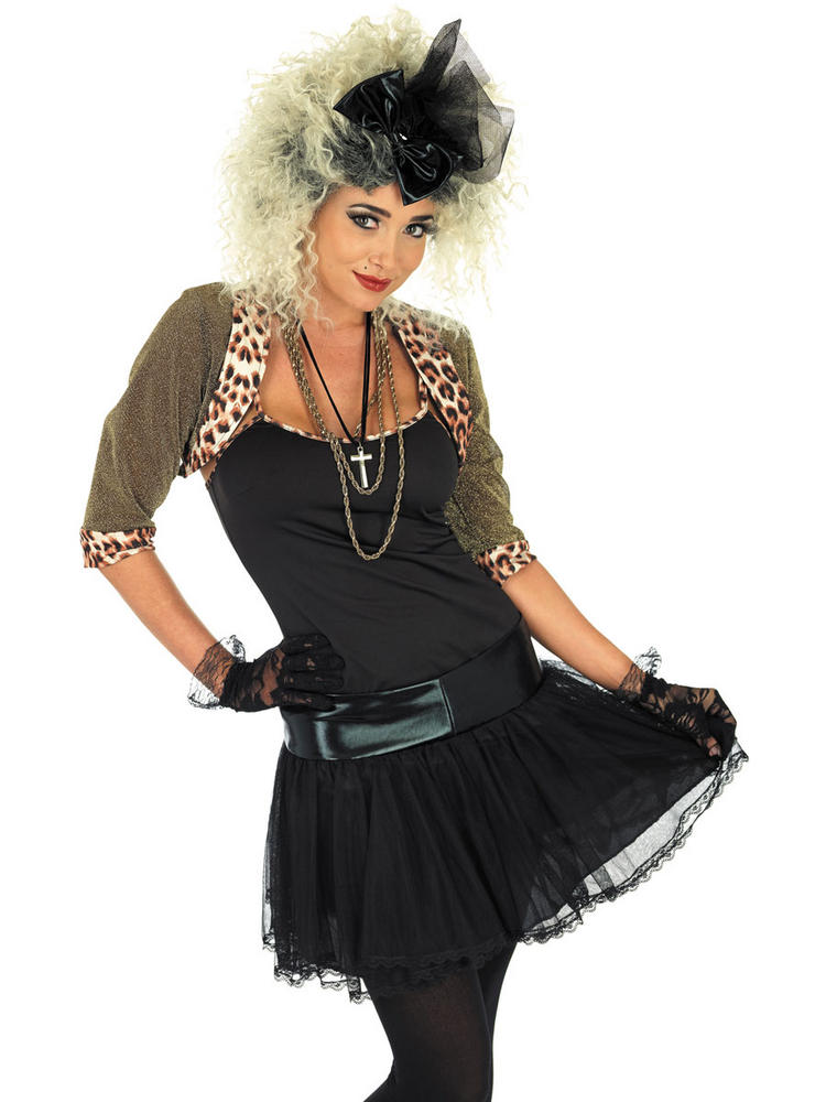 80s Pop Star Fancy Dress Costume