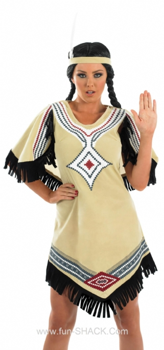 Indian Scout Fancy Dress Costume Thumbnail 1
