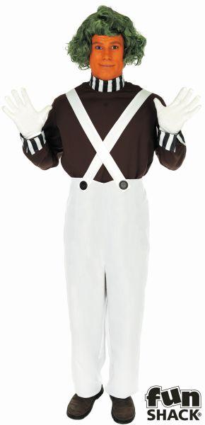 Factory Worker Fancy Dress Costume
