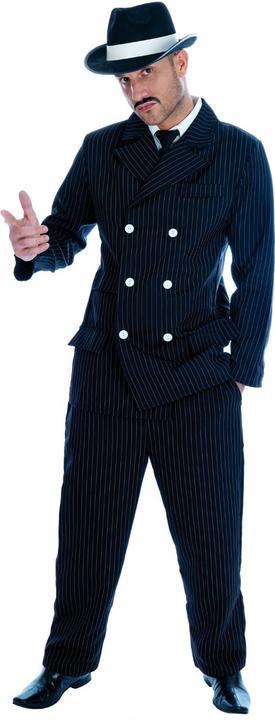 Gangster  Fancy Dress Costume Thumbnail 2