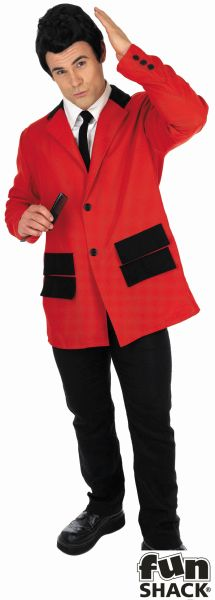 Red Teddy Boy Fancy Dress Costume