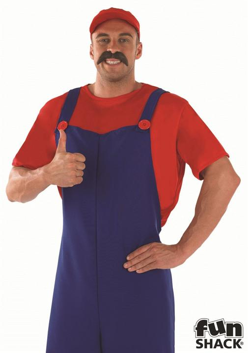 Red Plumbers Mate Fancy Dress Costume Thumbnail 1