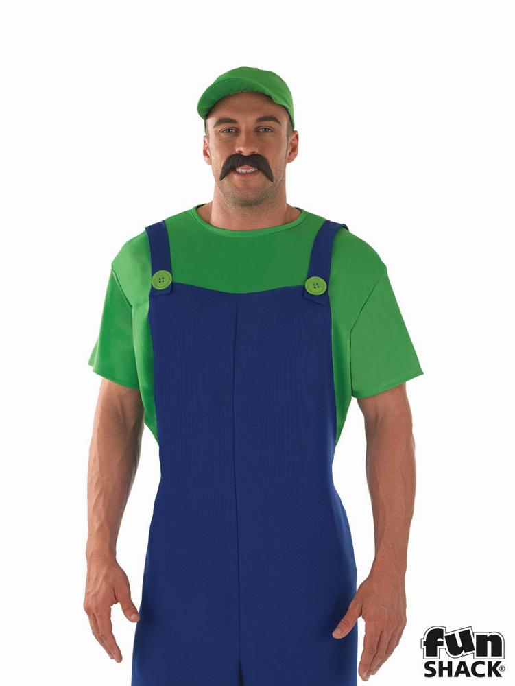 Green Plumbers Mate Fancy Dress Costume
