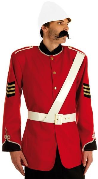Boer War Soldier Fancy Dress Costume Thumbnail 1