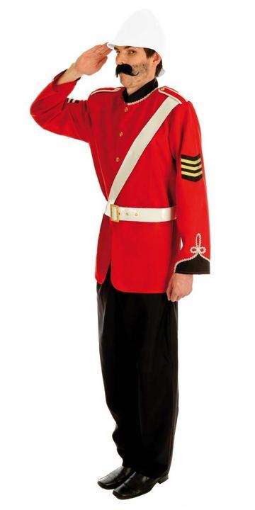 Boer War Soldier Fancy Dress Costume Thumbnail 2
