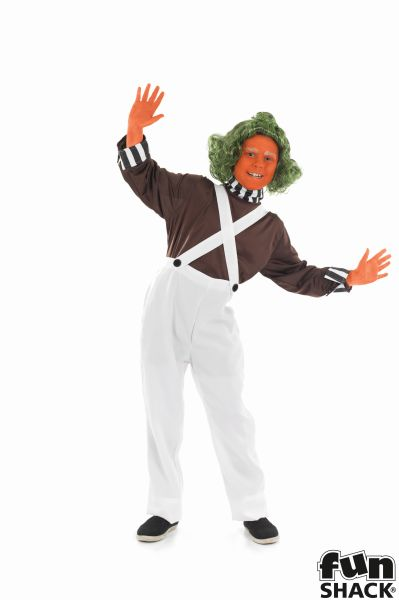 Kids Chocolate Factory Worker Boys Book Week Fancy Dress Childs Costume Outfit Thumbnail 1