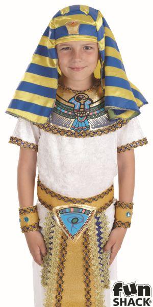 Egyptian Boy Fancy Dress Costume