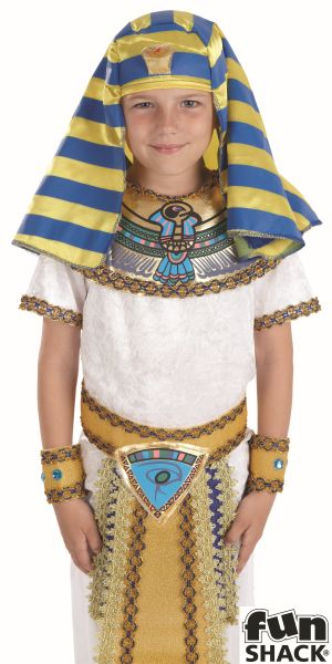 Egyptian Boy Fancy Dress Costume Thumbnail 1
