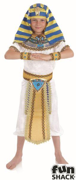 Egyptian Boy Fancy Dress Costume Thumbnail 2