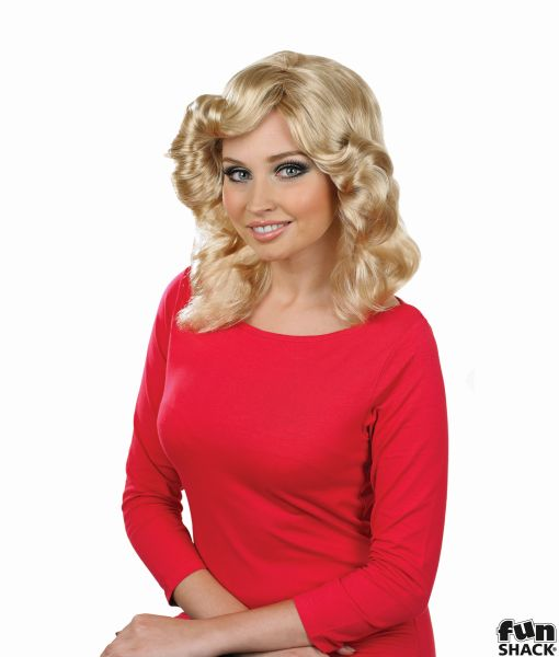 womens Farrah Flick Wig Blonde Thumbnail 1