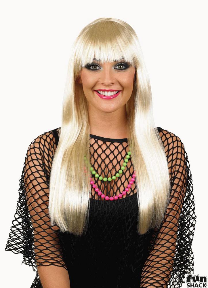 Platinum Blonde Fringe Wig