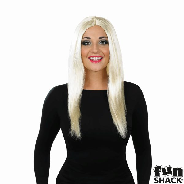 Womens Long Blonde Wig