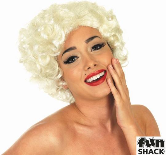 Womens Blonde Bombshell Wig Thumbnail 1