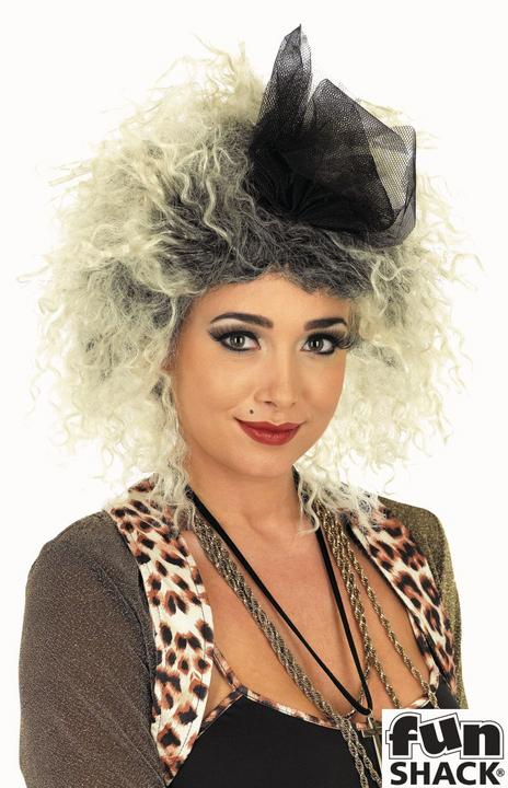 80S Pop Star Wig Thumbnail 1
