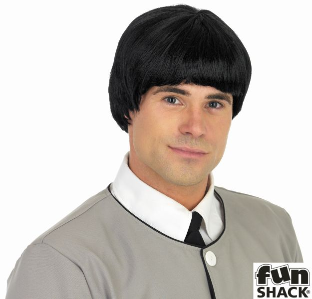Mens 60S Mersey Beat Wig