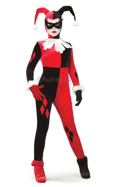 Harley Quinn Fancy Dress Costume Thumbnail 1