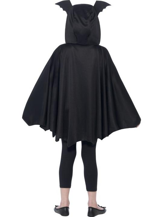 SALE Kids Spooky Black Bat Cape Girls / Boys Halloween Party Fancy Dress Costume Thumbnail 3