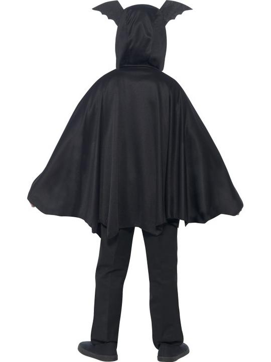 SALE Kids Spooky Black Bat Cape Girls / Boys Halloween Party Fancy Dress Costume Thumbnail 5