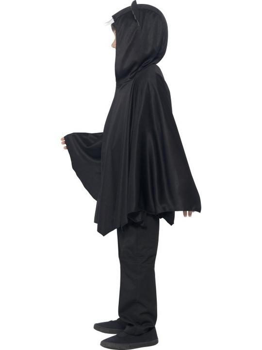 SALE Kids Spooky Black Bat Cape Girls / Boys Halloween Party Fancy Dress Costume Thumbnail 6