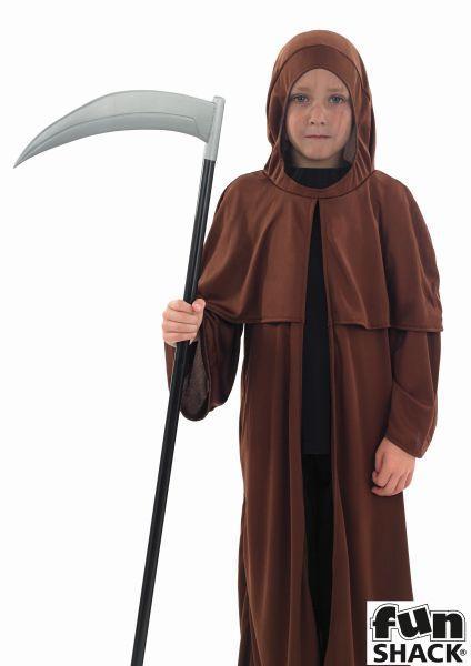 Boys Medieval Monk Fancy Dress Costume