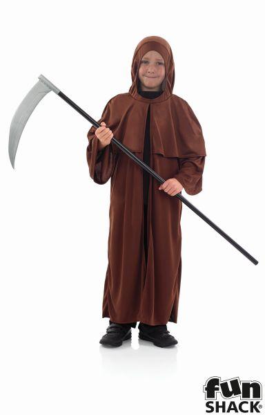 Boys Medieval Monk Fancy Dress Costume Thumbnail 2