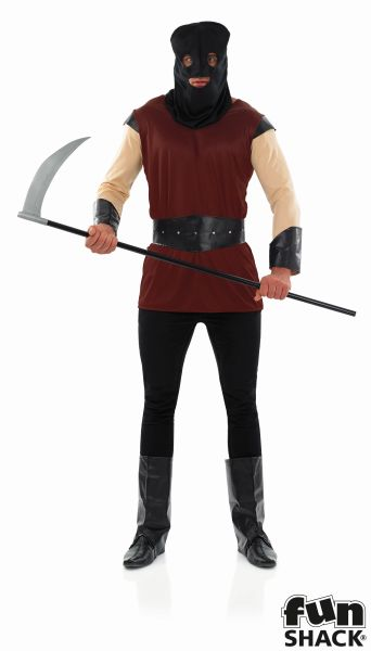 Men's  Executioner Fancy Dress Costume Thumbnail 1