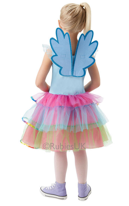My Little Pony Rainbow Dash Deluxe costume  Thumbnail 2