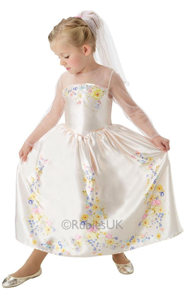Childs Live Action Cinderella Wedding Dress