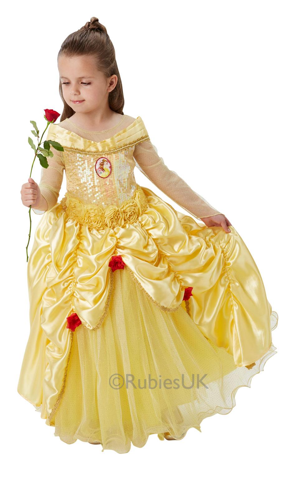 sc 1 st  Wonderland Party & Disney Premium Belle fancy Dress Costume