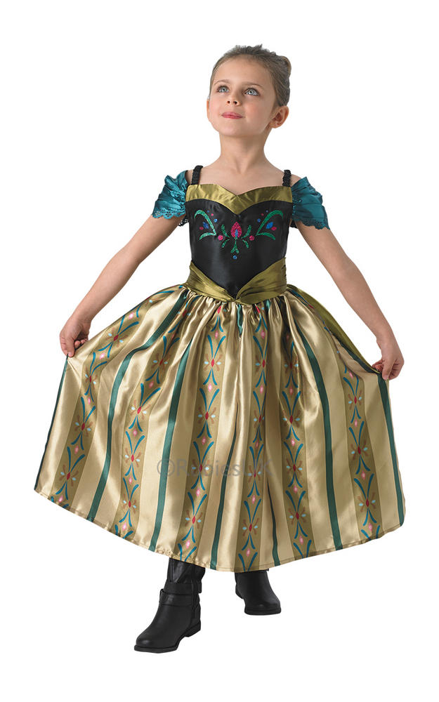 Disney Frozen Coronation Anna Costume