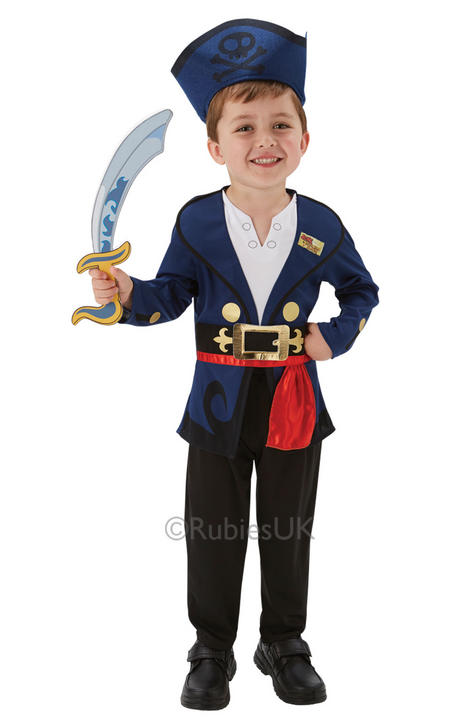 Disneys Jake and the Neverland Pirate Fancy Dress Costume Thumbnail 1