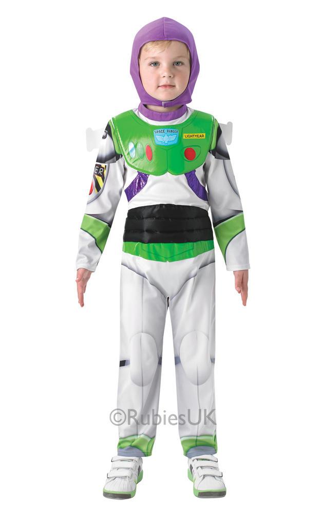 SALE Kids Disney Toy Story Deluxe Buzz LightYear Boys Fancy Dress Childs Costume