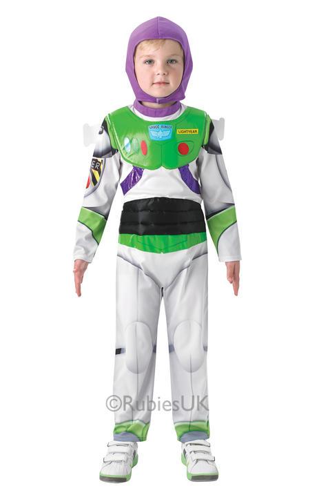 SALE Kids Disney Toy Story Deluxe Buzz LightYear Boys Fancy Dress Childs Costume Thumbnail 1