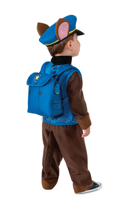 SALE Kids TV Cartoon Paw Patrol Police Dog Chase Boys Fancy Dress Childs Costume Thumbnail 2