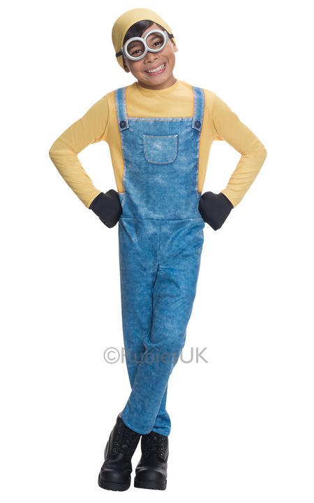 SALE! Minion Bob Boys Fancy Dress Despicable Me Kids Childs Movie Film Costume Thumbnail 1