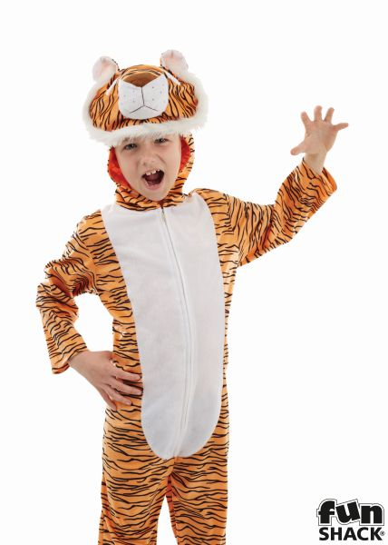 Childs Tiger Fancy Dress Costume  Thumbnail 1