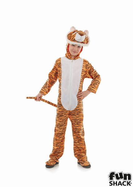 Childs Tiger Fancy Dress Costume  Thumbnail 2