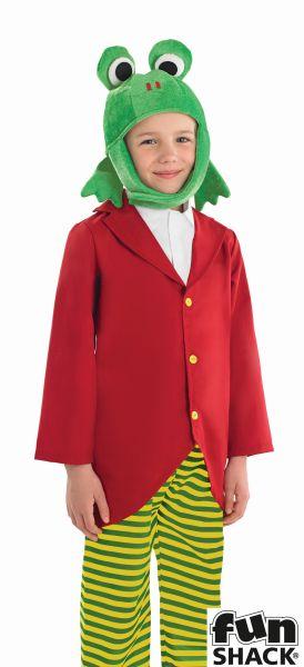 Boys Mr Frog Fancy Dress Costume