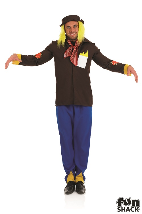 Scarecrow Men's Fancy Dress Costume