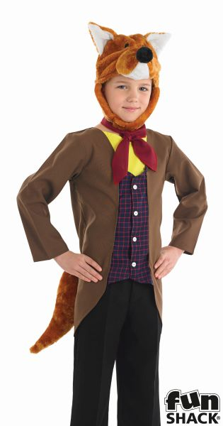Mr Fox Boy's Fancy Dress Costume