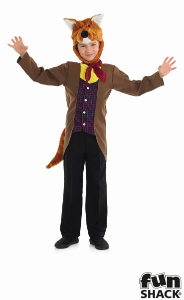 Mr Fox Boy's Fancy Dress Costume  Thumbnail 2