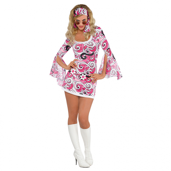 Women's Ivana 60s Go Go Fancy Dress Costume