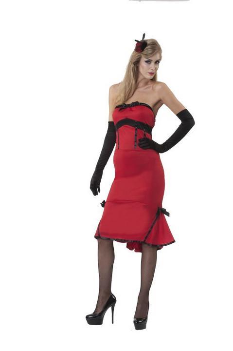 Women's Jade Inferno Fancy Dress Costume  Thumbnail 1